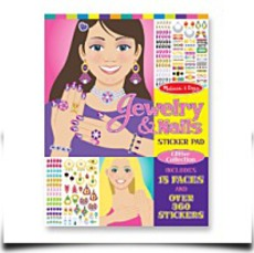 Jewelry And Nails Sticker Pad
