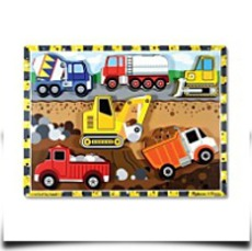 Melissa And Doug Construction Wooden