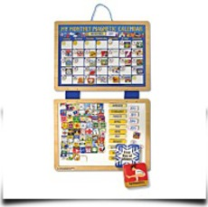 Melissa And Doug Deluxe Magnetic Calendar