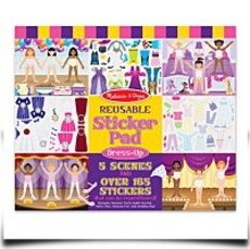 Melissa And Doug Dressup Reusable Sticker