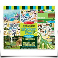 Melissa And Doug Habitats Reusable Sticker