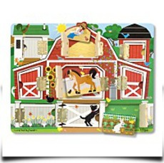 Melissa And Doug Magnetic Farm Hide
