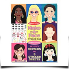 Melissa And Doug Makeaface Sticker