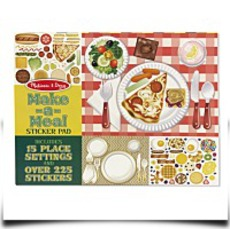 Melissa And Doug Makeameal Sticker