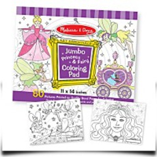Melissa And Doug Princess And Fairy Jumbo