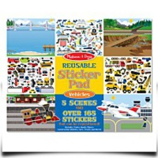 Melissa And Doug Vehicles Reusable Sticker