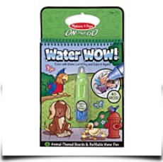 Melissa And Doug Water Wow Coloring Book