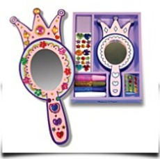 Melissa And Doug Wooden Princess Mirror