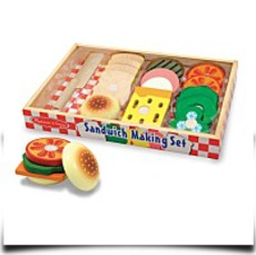Melissa And Doug Wooden Sandwichmaking