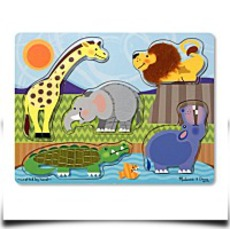 Melissa And Doug Zoo Animals Touch