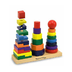 melissa doug geometric stacker