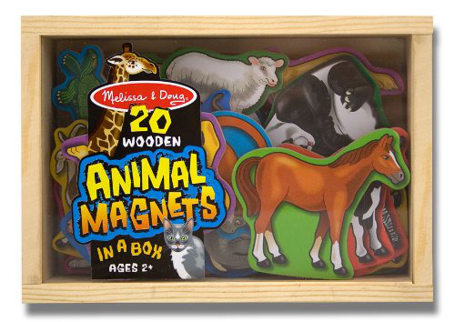 Melissa And Doug 20 Animal Magnets In A Box