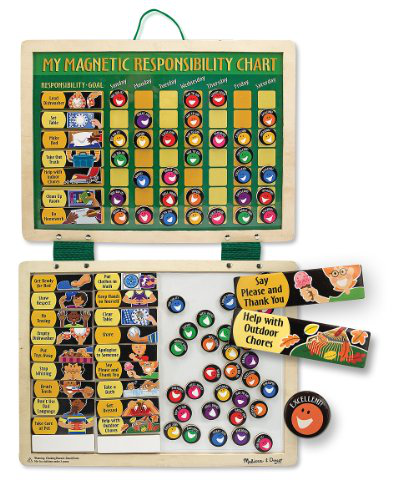 Melissa And Doug Deluxe Magnetic Responsibility