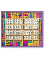 Melissa And Doug Deluxe Wooden Stringing